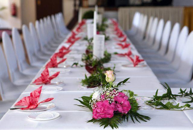 Hochzeit im Saal