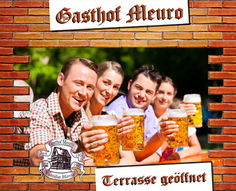 Gasthof Meuro terrasse